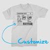 Boarding Pass - T-shirt