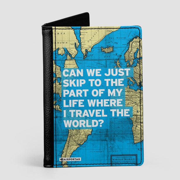 World map and travel quotes products airportag can we just world map passport cover airportag 1 gumiabroncs Gallery
