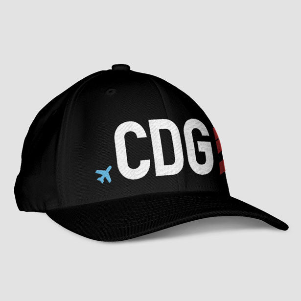 CDG - Airport code Classic Dad Cap - Exclusive hats for travel ... b3d0ee99610b