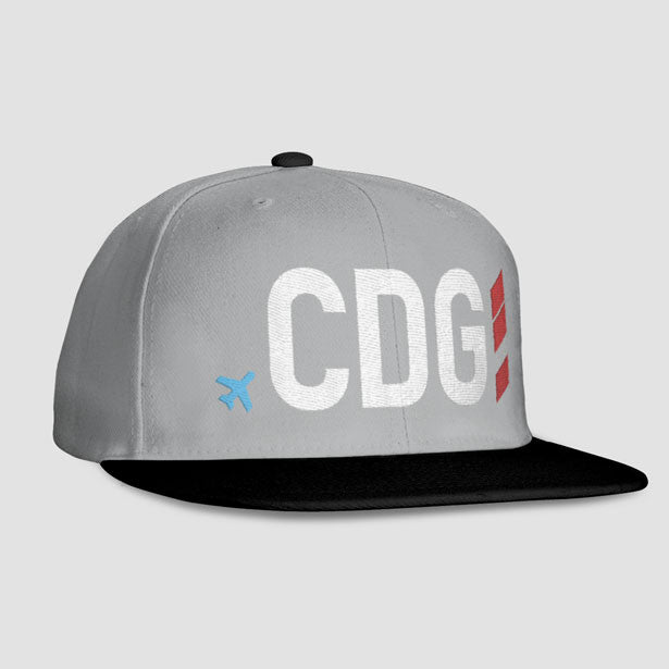 CDG - Snapback Cap - Exclusive caps and hats for travel lovers ... b405a6d35c24