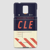 CLE - Phone Case - airportag  - 2