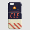 CLE - Phone Case - airportag  - 1