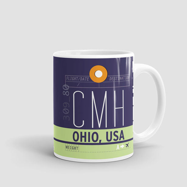 Coffee Mug Port Columbus Airport Iata Code Cmh