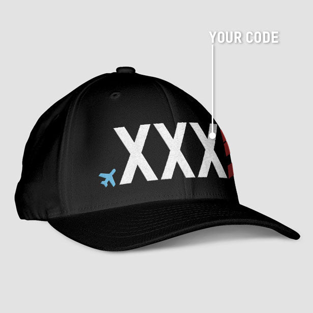 Custom - Airport code Classic Dad Cap - Exclusive hats for travel lovers –  Airportag fd0da34125f4