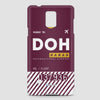 DOH - Phone Case - airportag  - 2