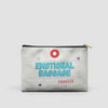 Emotional Baggage - Pouch Bag - airportag  - 5