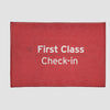 First Class - Rectangular Rug airportag.myshopify.com