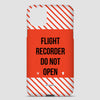 Flight Recorder - Phone Case airportag.myshopify.com