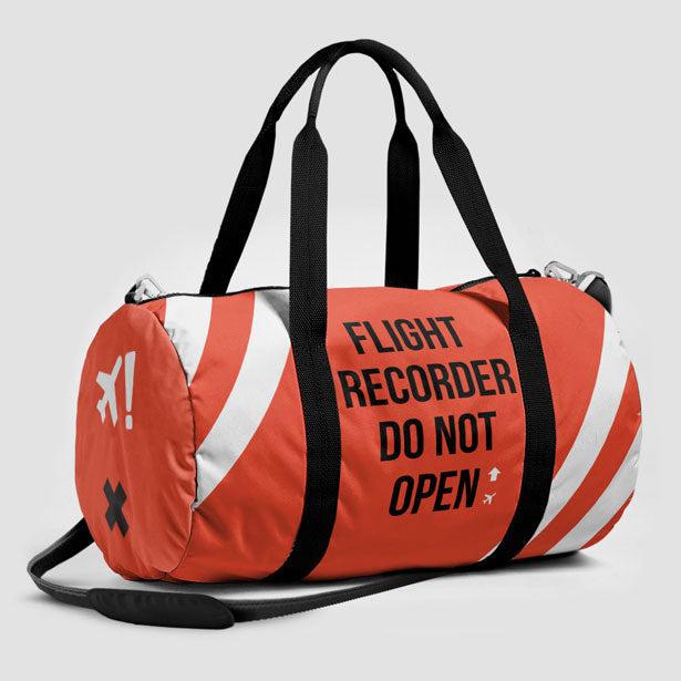 Airplane on the Runway Sports Bag