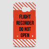 Flight Recorder - Phone Case - airportag  - 3