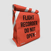 Flight Recorder - Lunch Bag airportag.myshopify.com