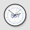 Fly VFR Chart - Wall Clock