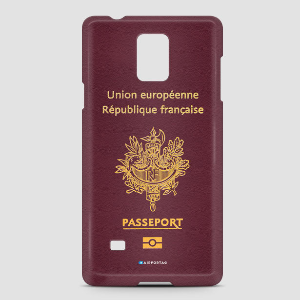France Passport Mobile Cover