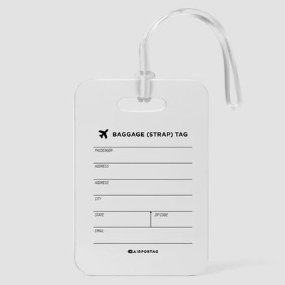 It Doesn't Matter Where We Go - Luggage Tag - Airportag