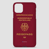 Germany - Passport Phone Case airportag.myshopify.com