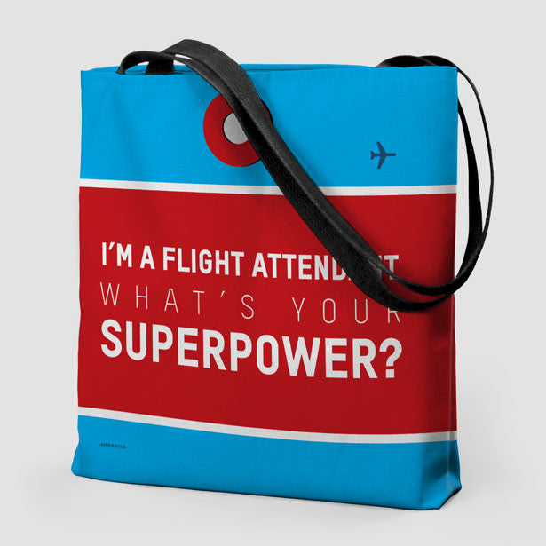 I m A Flight Attendant - Tote Bag - airportag - 1 afb1e714d677e