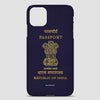 India - Passport Phone Case airportag.myshopify.com