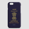 India - Passport Phone Case - airportag  - 1