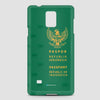 Indonesia - Passport Phone Case - airportag  - 3