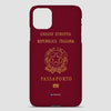 Italy - Passport Phone Case airportag.myshopify.com