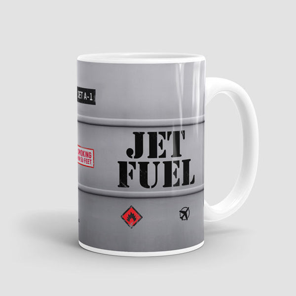 Coffee Mug Jet Fuel Only
