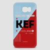 KEF - Phone Case - airportag  - 2
