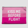 Kiss Me Before Flight - Pouch Bag - airportag  - 4