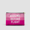 Kiss Me Before Flight - Pouch Bag - airportag  - 5