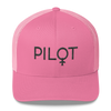 Pilot Women - Retro Trucker Cap - Airportag