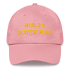 World's Okayest Pilot - Custom - Classic Dad Cap airportag.myshopify.com