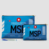 MSP - Pouch Bag - airportag  - 6