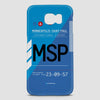 MSP - Phone Case - airportag  - 2