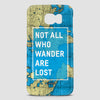 Not All Who Wander - Phone Case - airportag  - 2