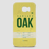 OAK - Phone Case - airportag  - 2