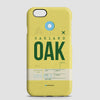 OAK - Phone Case - airportag  - 1