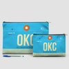 OKC - Pouch Bag - airportag  - 5