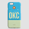 OKC - Phone Case - airportag  - 1