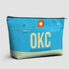 OKC - Pouch Bag - Airportag