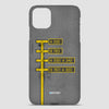 Parking - Phone Case airportag.myshopify.com