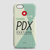 PDX - Phone Case - airportag  - 1