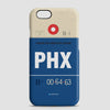 PHX - Phone Case - airportag  - 1