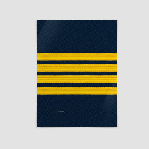 Pilot Stripes Gifts Posters