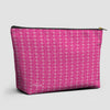 Planes Pink - Pouch Bag - airportag  - 1