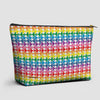Planes Rainbow - Pouch Bag - Airportag