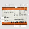 Train Ticket - UK - Pouch Bag - airportag  - 3