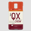 QX - Phone Case - airportag  - 3