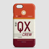 QX - Phone Case - airportag  - 1
