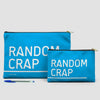 Random Crap - Pouch Bag - airportag  - 5