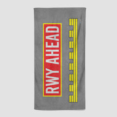 Runway Ahead - Beach Towel