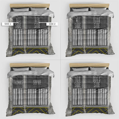 Runway Sides - Duvet Cover - airportag  - 3